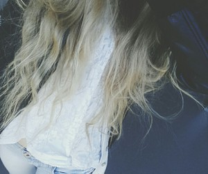 blonde, jeans, and clothes image