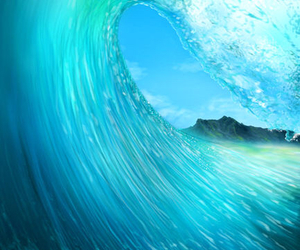 amazing, beautiful, and blue ocean image