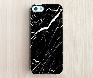 black, iphone, and marble image