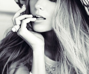 black and withe, elegant, and blake lively image