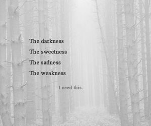 cry, Darkness, and emotion image