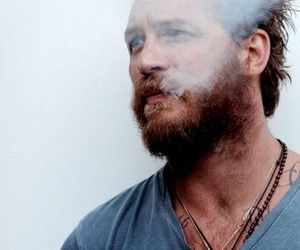 handsome, beard, and tom hardy image