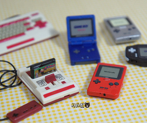 miniature, nitendo, and video games image