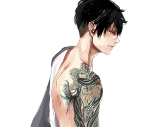 anime, tattoo, and levi image