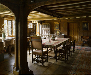 decor, interior, and medieval image
