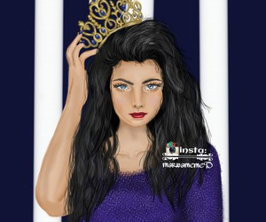 crown, girl, and sweet image