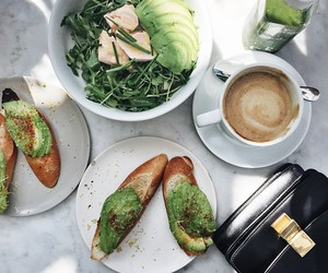 food, coffee, and healthy image