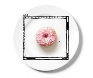 donut and iplate image