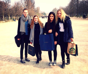 girls, friends, and paris image