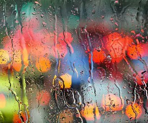 rain, photography, and colorful image