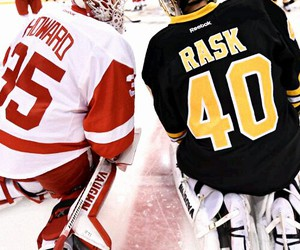 boston bruins, detroit red wings, and nhl image