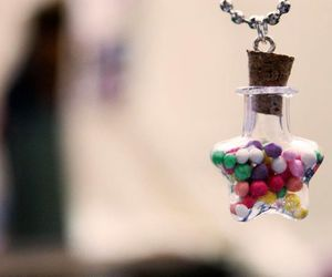 bottle, pendant, and pretty image