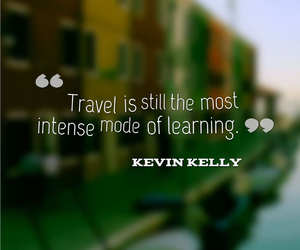 travel, quotes, and learning image