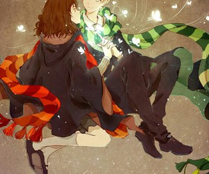 art, harry potter, and dramione image