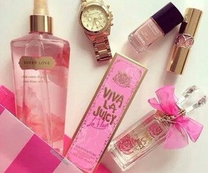 pink, Victoria's Secret, and YSL image