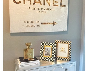 books, chanel, and decoration image