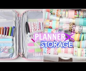 crafts, storage, and planner image
