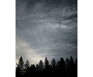 clouds, nature, and stars image