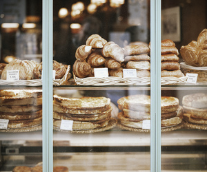 food, bakery, and croissant image