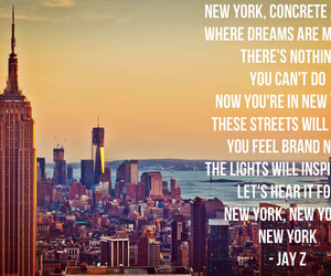 empire state, jay z, and Lyrics image