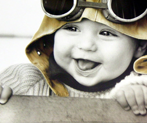 baby and smile image