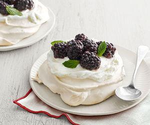 berries, cream, and dessert image
