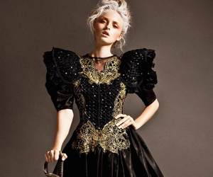 sword, dress, and fashion image