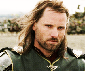 lord of the rings, aragorn, and LOTR image
