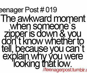 teenager post, funny, and zipper image