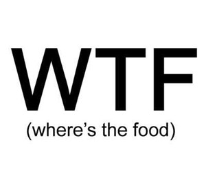 wtf, wtf food, and where's the food image