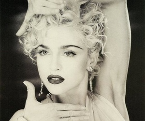 madonna, vogue, and black and white image