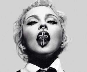 cross and madonna image