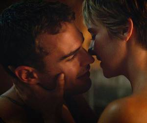 four, tris, and kiss image