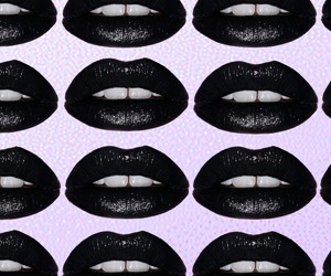 black lips, grunge, and pale image