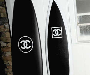 chanel, surf, and surfboard image