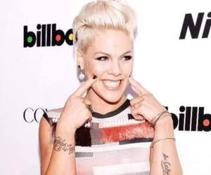 P!nk and smile image