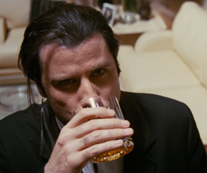 pulp fiction, John Travolta, and movie image