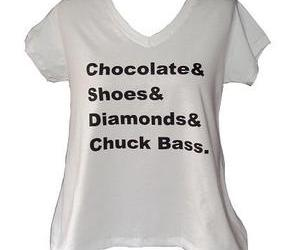 chuck bass, shoes, and chocolate image