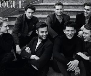 vogue, douglas booth, and boy image