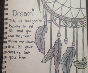 drawings, Dream, and dream catcher image