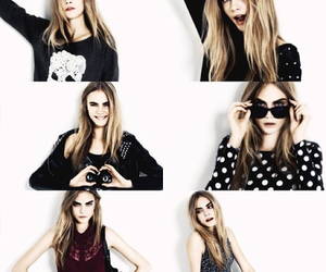 girl and cara delevigne image