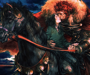 rider, fate zero, and alexander the great image