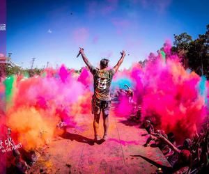colour, crowds, and fun image