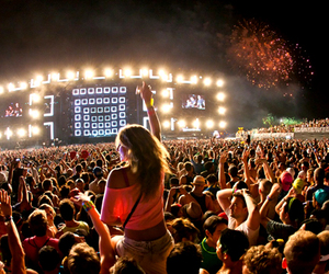 fun, party, and edm image