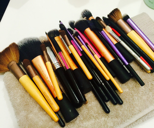 Brushes, kk, and make up image