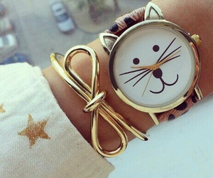 cat, watch, and accessories image