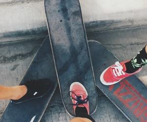 fashion, girl, and skate image