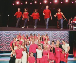 glee and glee cast image