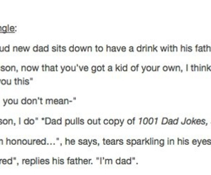 dad, joke, and tumblr image