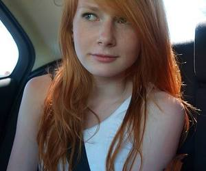 Nonsense! girl with red hair freckles